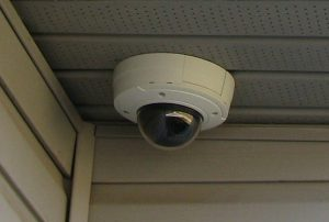 Axis Camera Under Soffit