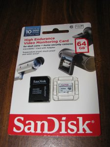 SanDisk High Endurance Video Monitoring Card