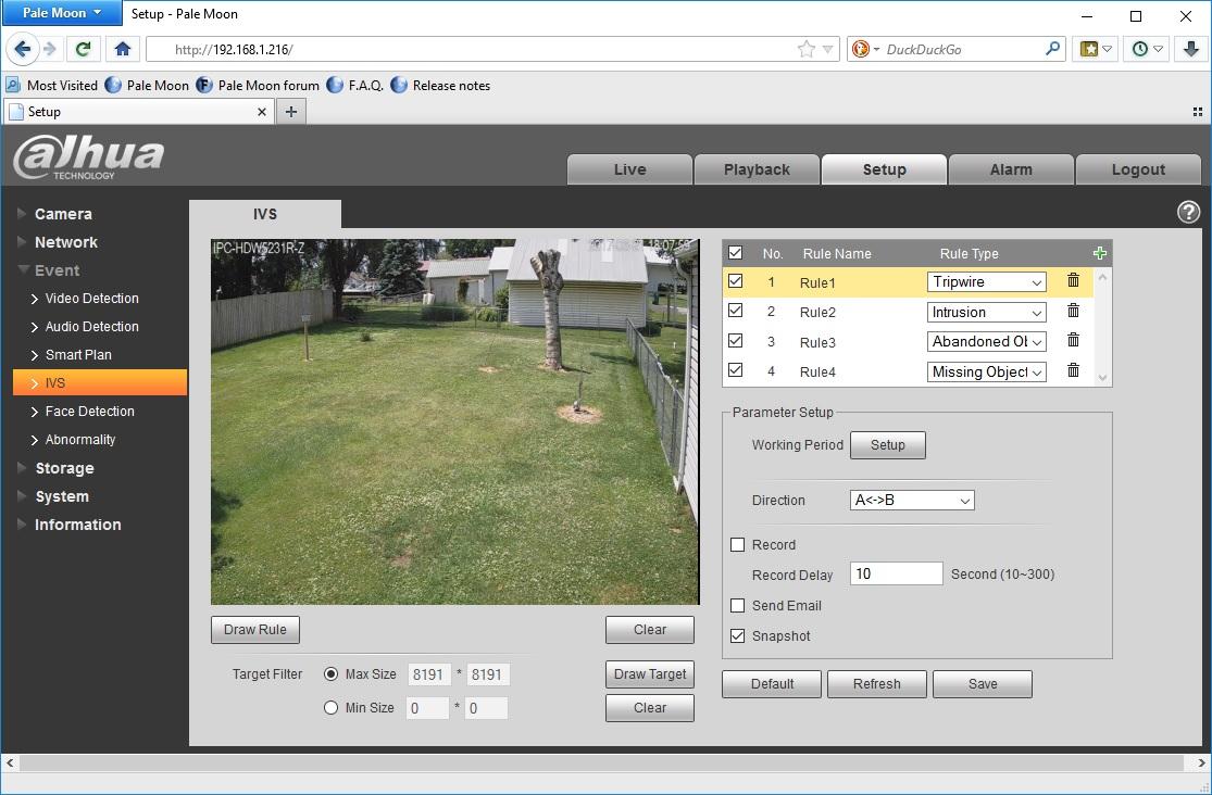 Dahua IPC-HDW5231R-Z Review - Network Camera Tech