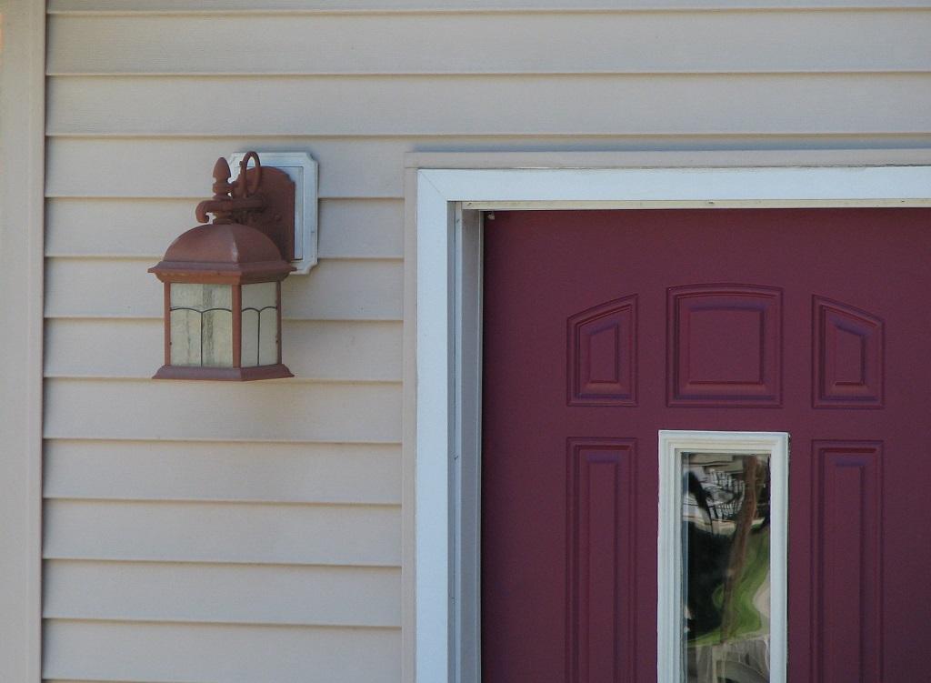 Porch Light and Door