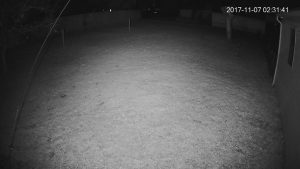 Dahua IPC-HDW5231R-Z with Tendelux AI4 IR on - night snapshot