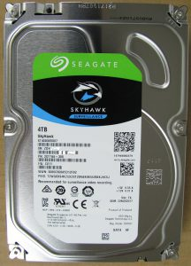 Seagate SkyHawk Surveillance 4TB
