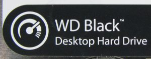 WD Black Desktop Hard Drive Logo